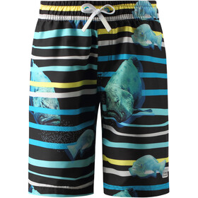 Reima Cancun Swim Shorts Youth, cyan blue